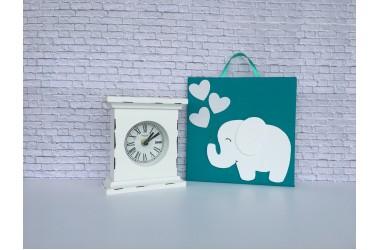 Tablou cu elefant alb